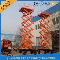 Buy cheap Electric Hydraulic Lift Table , Mobile Aerial Work Lifting Platforms Equipment for Building Cleaning product