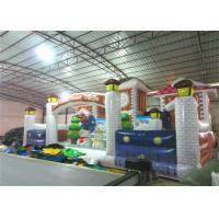 Buy cheap Commercial Children Custom Made Inflatables Snowman Safe Nontoxic 10 X 6m Waterproof product