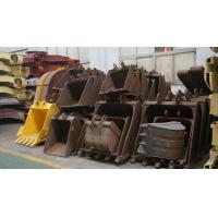 Buy cheap Mini Digger / Excavator Bucket For Excavator Spare Parts , OEM Heavy Steel Fabrication product