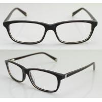 Buy cheap Lightweight Stylish Acetate Women / Mens Eyeglasses Frames with Demo Lens product