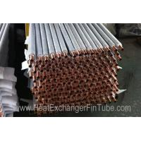 High Precision A192 seamless boiler / air cooler Extruded Fin Tube OD1.5''