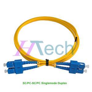 Buy cheap Optical Fiber Patch Cord SC/UPC-SC/UPC Singlemode Duplex product
