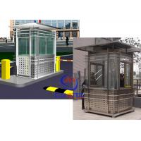 Buy cheap Prefabricated Safety Guard Kiosk , Sentry Garden Shed Ce Approved product