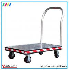 Buy cheap Aluminum Heavy-Duty Platform Hand Trolley AF2448 product
