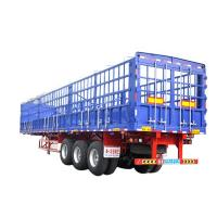 Buy cheap High Quality Stainless Steel 3 Axle Cargo Trailer Skeleton Semi Trailer Sale In Africa product
