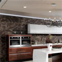 Marble Countertop Closeout Wood Veneer Kitchen Cabinets