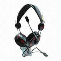 Buy cheap New Metallic Headset, Perfect for Listening Music, Chatting and Video Games Online product