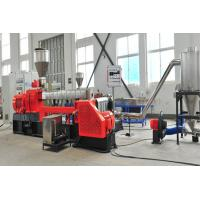 Buy cheap HFFR line granulator Banbury 65 150 two-stage 300 kg/h extruder Kneader product