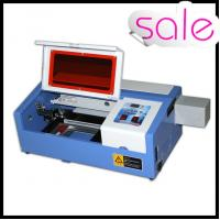 China 50W Portable Mini Laser Engraving Machine For Rubber / Wood / Acrylic / Glass on sale
