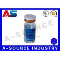 Buy cheap Customized Laser Medication 10ml Vial Labels Rainbow Color product