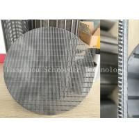 Buy cheap Wedge Wire Screen Panel Fiter Mesh For Liquid Seperation Or Filtration With 0.3mm Opening Slot , OD 200mm from Wholesalers