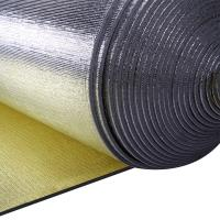 China Double Faced Construction Heat Insulation Foam Aluminum Foil  Thermo Insulation on sale