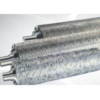 Buy cheap PP ABS Embossing Roller Surface Hardness HRC55~58 , PVC Mirror Roller product