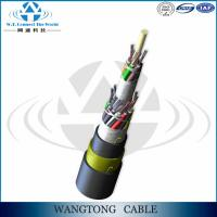 Buy cheap ADSS-Outdoor self-supporting aerial 96 core optical fiber cable price adss for Power Transmission Line product