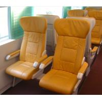 Buy cheap Soft Leather Luxury Bus Seats Durable , Custom Luxury Coach Seats For Train product