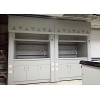 Buy cheap Compact Structure Steel Fume Hood Epoxy Resin Worktop Resistance To Corrosion from wholesalers