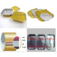 Buy cheap Golden Aluminium Foil Back Side PP Film Used For Food Container product