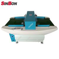 Quality Conveyor broken needle metal detectors for textile garment industry for sale