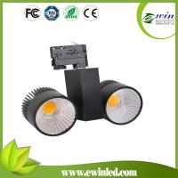 China Eurostabd 4 wires 3 phase 2700-7000k dimmable led track lighting 50w 2*50w track light on sale