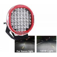 Buy cheap Super Bright 185W high power led work light, 9 inch CREE ARB Spot 185w led driving light product