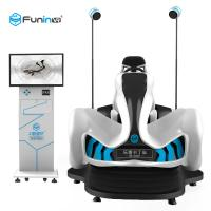 China 220V Motion Seat Racing Games VR Racing 9D Simulator 400kg For VR Club VR Park on sale