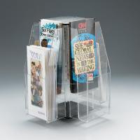 Buy cheap clear brochure holders product