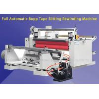 Buy cheap 380v 50HZ Touch Screen Slitting Rewinding Machine For Electrical Insulation product