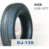 China Electric Tricycle Parts 5.00 - 12 Three Wheel Motorcycle Tire with 37%-56% Rubber Content on sale