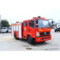 Buy cheap Emergency Fire Fighting Truck With Cummins EQB125 Diesel Engine 4000Liters Water product