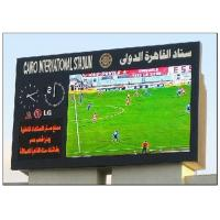 Buy cheap Mutil Color 8500 CD Brightness Football Stadium Screen , Commercial Panel Display Systems product