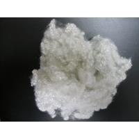 China 7D * 64mm HCS Hollow Siliconized Polyester Staple Fiber,White on sale