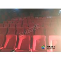 Buy cheap Special Effects Function Movie Theatre Seats / Chairs With Excited Feeling product