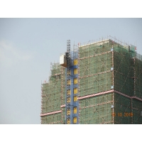 Buy cheap Frequency Conversion Rack Pinion Lift Building Material Hoist product