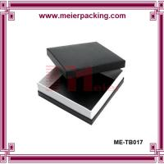 Buy cheap Art paper black box, square printing gift paper box ME-TB017 product