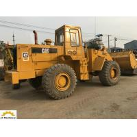 China 5 Ton Used Cat Wheel Loader Machine 966C With 3M3 Bucket Size 126.8 Kw on sale