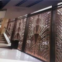 China CNC laser cutting panel screen metal decoration material for luxury architectural and interior projects on sale