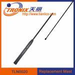 Buy cheap 1 section mast car antenna/ car replacement mast antenna/ car antenna accessories TLN0020 product