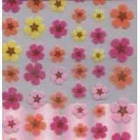 Lovely flower nontoxic lace french manicure nail art designs sticker art for girl