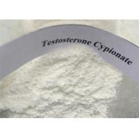 Buy cheap Testosterone Anabolic Steroid White Powder Testosterone Cypionate / Test Cyp CAS 58-20-8 For Muscle Gaining product