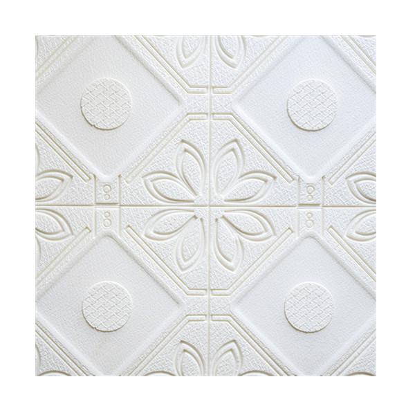 Quality 3d Flexible Decorative Foam Brick Wall Panels , Pvc Self Adhesive Wall Planks Board for sale