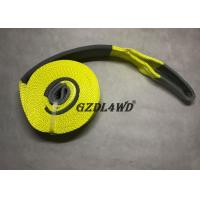 Buy cheap 100% Polyester Truck Snatch Strap Towing Heavy Duty Custom Pickup Truck product