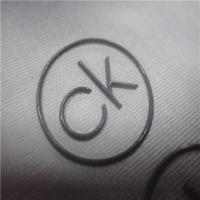 Buy cheap High Frequency Circle Heat Transfer Logo With Shinny Embossed Surface product