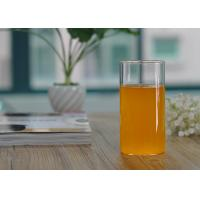 Buy cheap Straight Cylinder 355ml Borosilicate Single Wall Glass Cup Drinkware product
