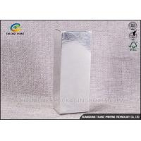 Buy cheap Silver Foil Stamping Customized Printing Cosmetic Packaging Boxes For Skincare Paper Packing Boxes product