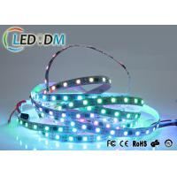 Buy cheap 12V Flexible LED Strip Lights , 5050 SMD WS2811 IC Digital Waterproof RGB Light Strip product