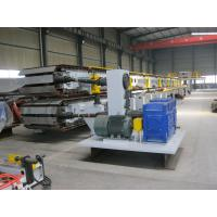 Buy cheap Mitsubishi PLC Sandwich Panel Production Line / PU Sandwich Panel Machine product