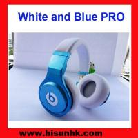 Buy cheap Wholesale cheap white and blue monster pro,beats pro headphones by beats dr dre product