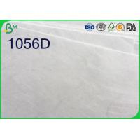 Buy cheap White Color Tyvek Paper Roll , 1025D 1056D 1057D Tyvek Sheets For Printing product