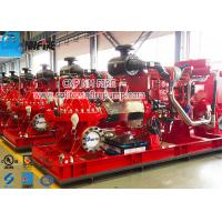 Buy cheap Split Case Diesel Driven Fire Pump Set Firefighting Use Easy Maintenance product