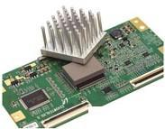 Buy cheap 2.5W / mK CPU Heatsink  25 Shore 00 Thermally Conductive pad for Electronic Components -50 to 200℃ product